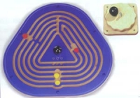 Wandkreisel Labyrinth