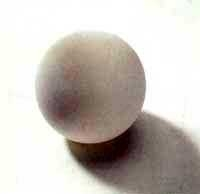 Silikonball, 61mm weiß Stück