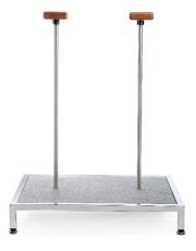 Plattform Handequilibristik mit zwei Stützen