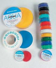 Aquacolor Schminke 12gr/8ml Einzelfarbe