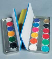 Aquacolor Schminkpalette 12er Bunt