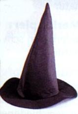 Hexenhut schwarz