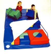 Bausteinsatzmatte 150x150x30cm