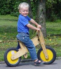 Pedo-Bike S Air luftbereift