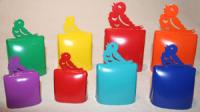Kuh-Glockensatz farbig
