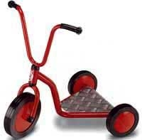 Dreirad-Roller mit 2 Hinterrädern