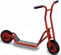 Roller, groß mit Fußbremse