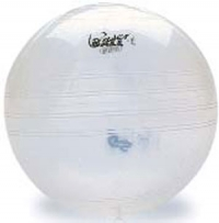 My Ball Sitzball 45cm, transparent