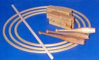 Turnkeule 36cm Buche klarlackiert