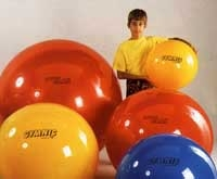 Gymnastikball 75cm, gelb