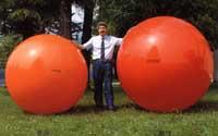 Megaball 180cm rot